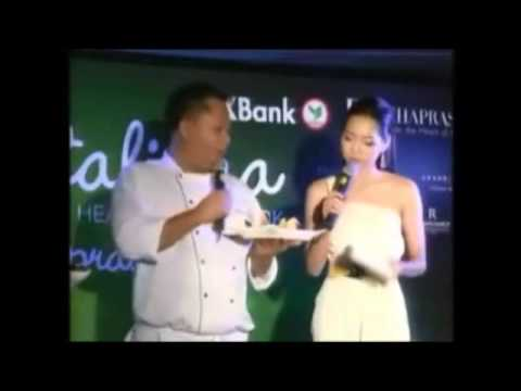 Taste it all@Ratchaprasong 2013 ไอรินทร์ พิธีกรสองภาษา Professional bilingual (thai-eng) mc