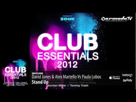 David Jones & Alex Martello vs Paula Lobos – Stand Up (From: Club Essentials 2012)