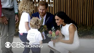 Prince Harry and Meghan's first day in Australia a carefully planned charm offensive