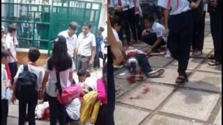 Nữ sinh lớp 9 mang theo dao lên lớp đâm trúng 2 bạn nữ nhập viện vì bị đánh hội đồng
