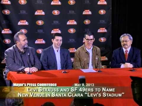 Levi's & San Francisco 49ers Announce Naming Rights Proposal