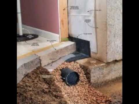 Ashpark Inside Basement Weeping Tile Drainage Systems 1