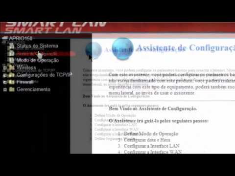 Como resetar e configurar roteador Smart Lan Aprio 150 Mbps