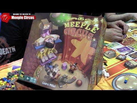 GenCon 50  - Meeple Circus Preview