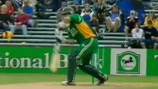 South Africa Vs New Zealand 2003-04 5th ODI Highlights