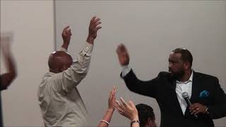 Bishop Dawit Molalegn Betelat Anebeletem at Ethiopian Evangelical Church of Charlotte NC