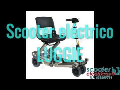 Scooter electrico plegable Luggie de wwwscooterelectricos.es