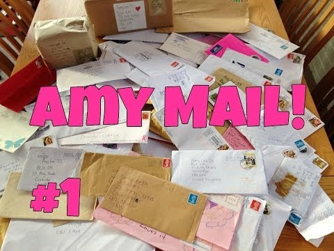 Amy Mail! Thank You So Much! ♥ #1