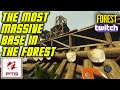 The MOST Massive Base You'll See In The Forest