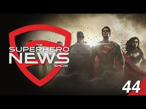 Superhero News #44: Justice League Concept Art Revealed!