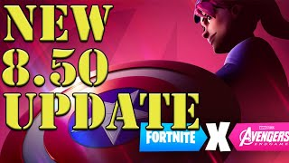 3rd Rune Spawned in Fortnite Event Black Widow NEW Avengers LTM Fortnite Update 8.50 Update Gameplay