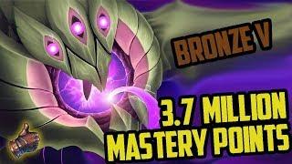 Bronze 5 Vel'koz 3,700,000 MASTERY POINTS- Spectate Highest Mastery Points on Vel'Koz
