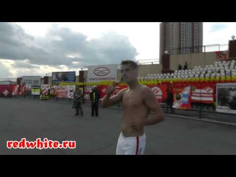 Команда Спартак благодарит фанатов