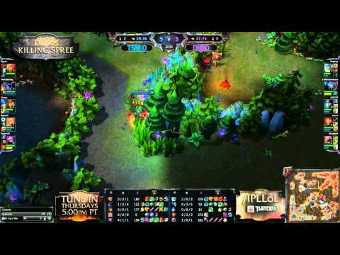 Dignitas vs Team SoloMid - Game 1 - Killing Spree - IPL League of Legends