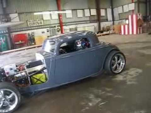 Electric Hot-Rod - First Indoor Test