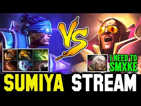 Even SUMIYA feel Stress to play this Game | Sumiya Invoker Stream Moment #683