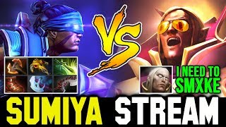Even SUMIYA feel Stress to play this Game | Sumiya Invoker Stream Moment #683