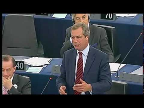 Nigel Farage destroys Barroso's State of the Union