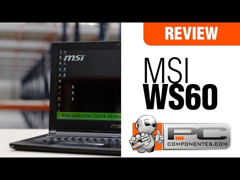 MSI WS60 WorkStation - Overview