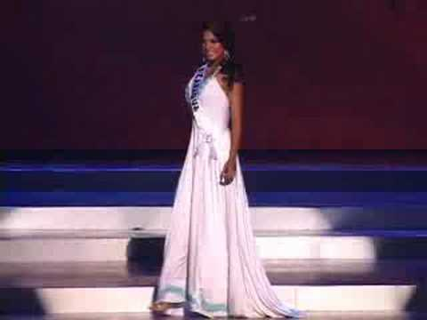 Nicaragua - Miss Universe 2008 Presentation - Evening Gown