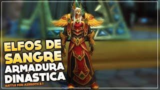 Armadura Dinástica de los Elfos de Sangre | World of Warcraft