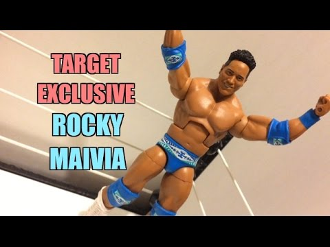 WWE ACTION INSIDER: Elite Rocky Maivia Mattel Flashback Target Exclusive Wrestling Figure Review!