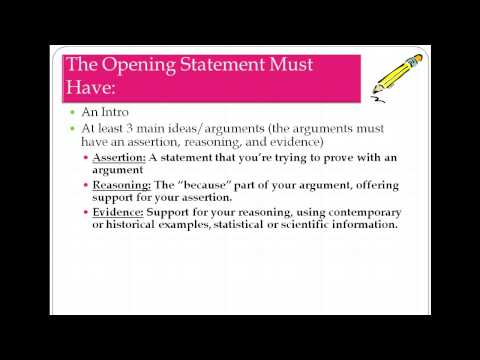 Closing Statement Template And Closing Statement