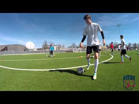Technik Und Passspiel Am Deutschen Fußball Internat
