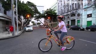 Biciclet�rio no Recife supera expectativas em sua inaugura��o