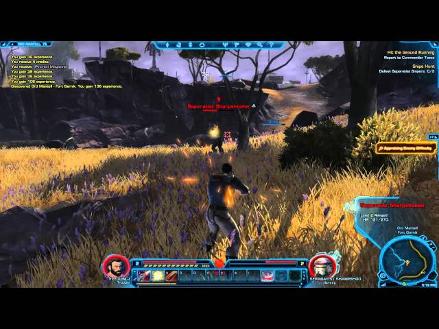 Český GamePlay | Star Wars: The Old Republic Free Trial | FlyGunCZ + SoNyCz | HD - 720p
