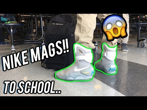 I Wore My Nike Mags to School