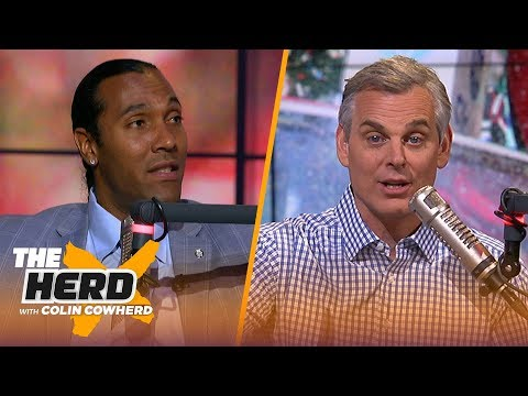 TJ Houshmandzadeh discusses Antonio Browns trade value Kyler Murray in the NFL  NFL  THE HERD