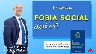 Fobia Social (parte 2/2) ¿Qué relación hay entre Ansiedad y Fobia Social?