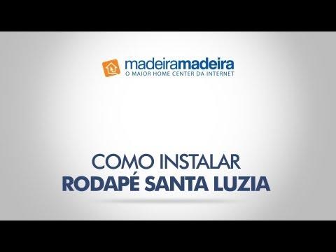 Como Instalar Rodap�s Santa Luzia