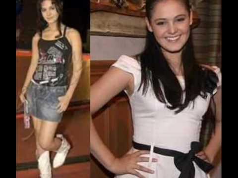 Video con fotografias de la actriz y cantante Allisson Lozz cuando era niña y en la actualidad.