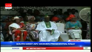 South-west APC Women's Presidential Rally Part 4