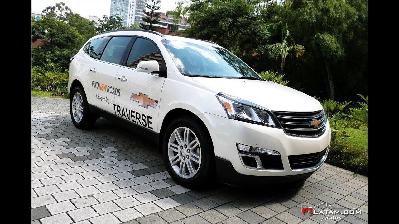 Nueva Chevrolet Traverse 2014 en Colombia - Lanzamiento Oficial