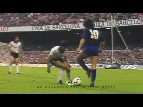 Diego Maradona Top 50 Amazing Skill Moves Ever | Is this guy the best in history? D10S