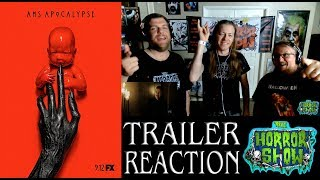 """American Horror Story: Apocalypse"" 2018 Full Story Trailer #1 Reaction - The Horror Show"