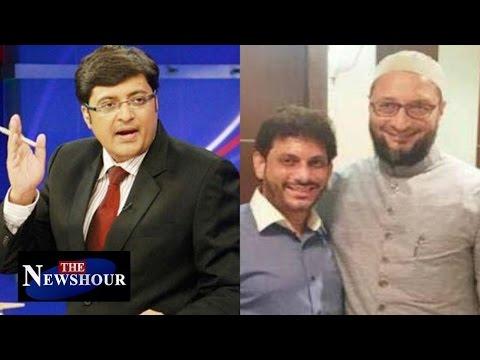 Asaduddin Owaisi & Waris Pathan Won't Say Bharat Mata Ki Jai : The Newshour Debate (16th March 2016)