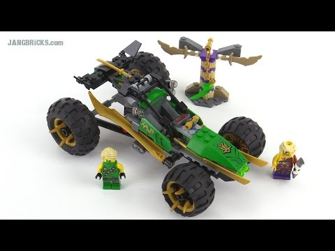 LEGO Ninjago 2015 Jungle Raider review! set 70755