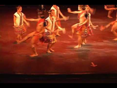 Leyte Dance Theatre---Igorot Dance PHILIPPINE BALLET