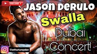Jason Derulo- Swalla (feat. Nicki Minaj & Ty Dolla $ign)  LIVE in Global Village Dubai