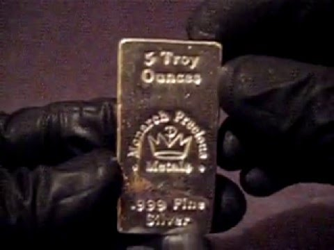 MONARCH SILVER BAR FOR SALE------UPDATE: SOLD!