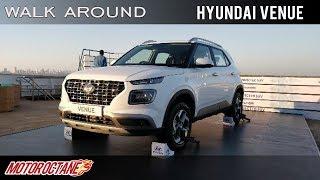 Hyundai Venue | Hindi Walkaround Review | MotorOctane