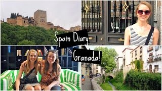 SPAIN DIARY ∆ Granada and Face Planting! ChapterStackss