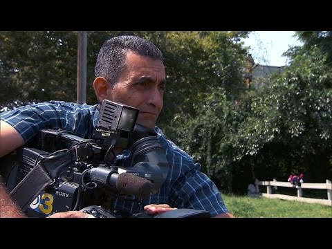 An Iraqi news cameraman's new life in America