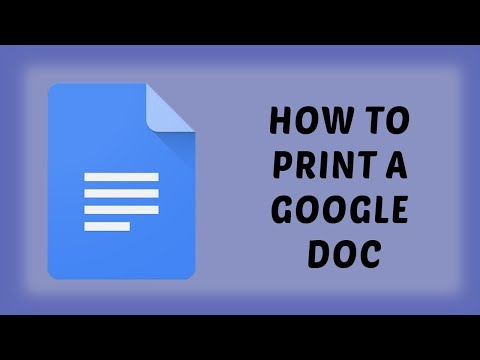 How To Print A Google Doc | Print from Google Drive | Easy Tutorials In Hindi
