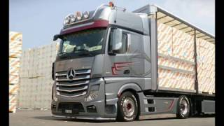 MB Actros MP4 Tuning By Team Jenal AG Transporte (Part 3)