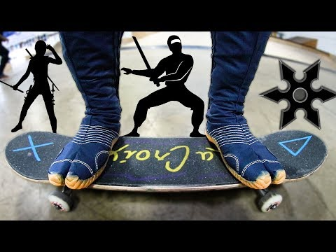 INCREDIBLE NINJA SHOES!?